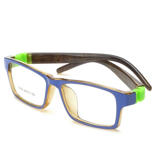 Cute Rubber Leg Kids Animal Detachable Eyeglasses Optical Glasses Frames Eyewear for Children No Screw Safe Myopia Lense 8818