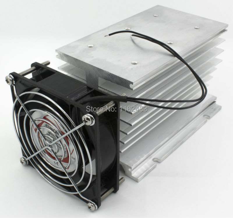 FHSI02F-150 AC 220V fan 150*100*95 mm 100A three phase solid state relay SSR heat sink radiator with protective coverFHSI02F-150 AC 220V fan 150*100*95 mm 100A three phase solid state relay SSR heat sink radiator with protective cover