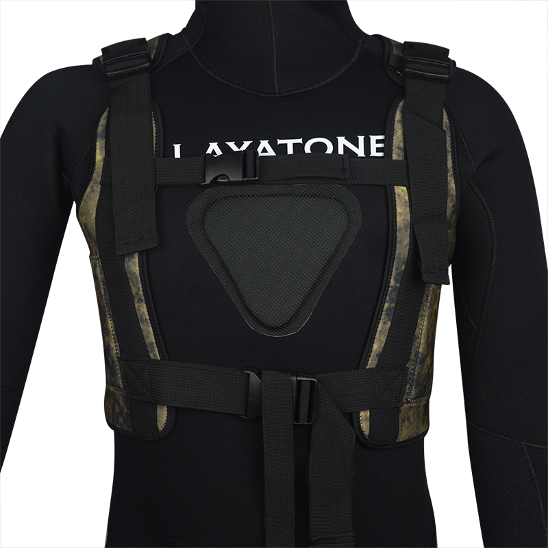 spearfishing underwatr fishing wetsuit weight vest drop vest load vest knife 05