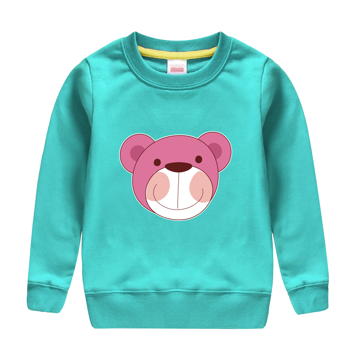 baby boys childen clothing 2018 new brand clothes long sleeve tops bear pattern printed kids sweatshirts design for children