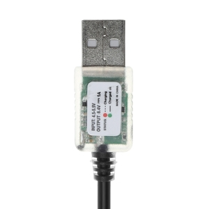 Image 5 - New USB 5V to 8.4V Power Charge Cable For Bicycle LED Head Light 18650 Battery Pack APR19