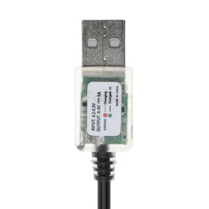 Image 5 - جديد USB 5 V إلى 8.4 V الطاقة كبل شحن ل دراجة LED رئيس ضوء 18650 بطارية حزمة APR19