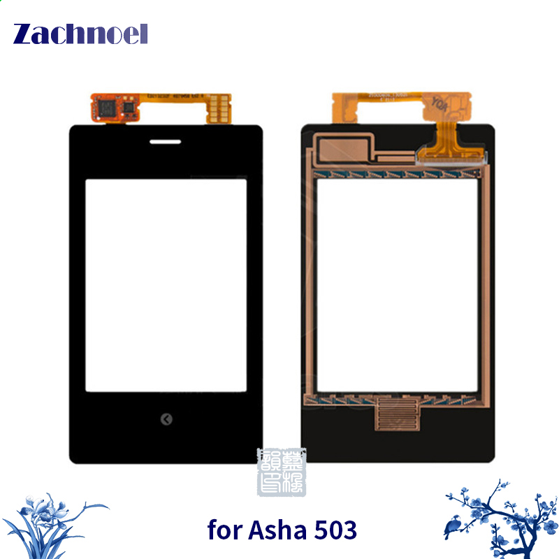 3.0 Touch Panel for Nokia Asha 503 N503 Touch Screen Digitizer Sensor Front Glass Lens Panel Touchscreen Replacement