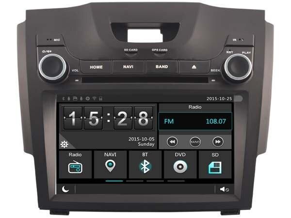 Car Gps Dvd Head Unit Radio for Chevy Chevrolet S10 Isuzu ...