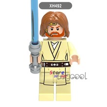 1PCS model building blocks action figure starwars superheroes Obi-Wan Kenobi kits classic party ideas diy toys for children gift(China)