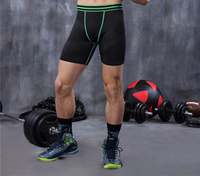 Men Compression Shorts Base Layer Tight Underwear Boxers Running Exercise Fitness Gym Workout Football Soccer Basketball
