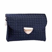 flama Women Weave Pattern Wallet Shoulder Messenger Bag Handbag Female Fashion Designer Quilted top-handle Bag Free Shipping2017