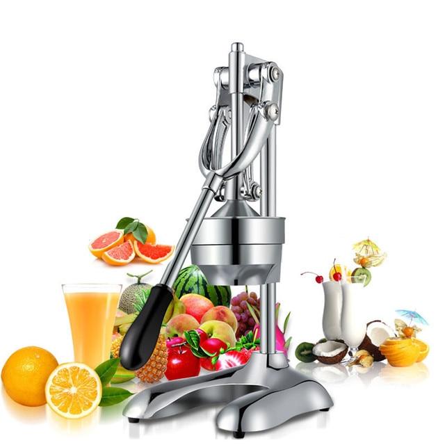 BEIJAMEI Household stainless steel commercial manual orange juicer machine hand press machine orange lemon grape Juicer