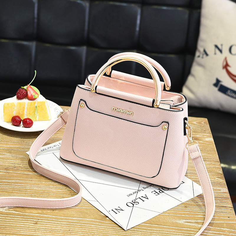 Small bag girl 2019 new style female package Korean version fresh and small fragrant fashion fashionable shoulder bag in Shoulder Bags from Luggage Bags