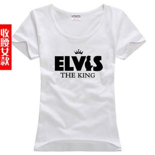 O envio gratuito de cartas de impressão básico camisa mais a mulher tamanho mulheres sitcoms femininos elvis costello-T-shirt de manga curta