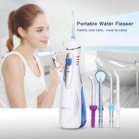 Waterpulse V400 Oral Irrigator 240ml Dental Irrigator Dental Water Jet Flosser Oral Care Teeth Cleaner Toothpick Teeth Shower
