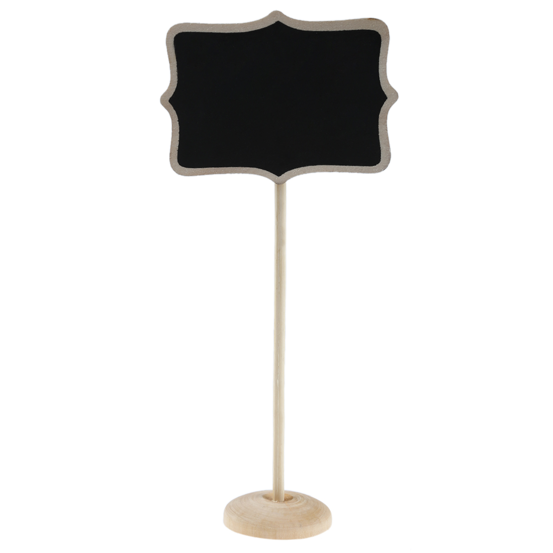 SOSW-Mini Blackboard Chalkboard Wordpad Message Board Holder Clip (Set Of 10)