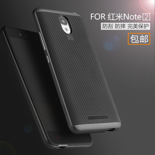 newest fb79b a2d9e US $8.7 |ipaky Shockproof Cover for Xiaomi Redmi Note 2 Prime Case 2 in 1  Luxury PC Bumper + Silicone Cover for Hongmi Note2 Phone Shell on ...