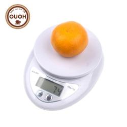 5000g/1g 5 kg LED alimentation électronique régime cuisine postale Balance numérique outils de cuisson Balance poids pondération MCT-17