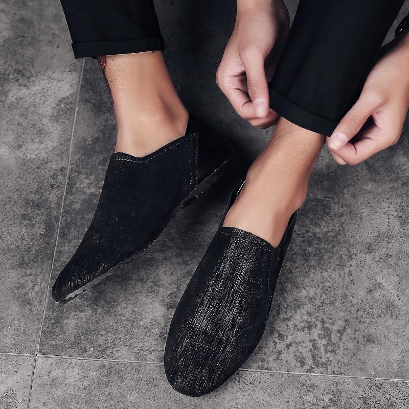 Hombre Populaire Pu De Chaussures Zapatos Casual Marque Haute Mâle Hommes brown Conduite Confortable Black Lumière Appartements Mode Qualité Mocassins xOXfqqwa