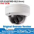 Hik IP Camera 4MP OEM DS-2CD2142FWD-IS 2.8mm IP Camera Poe Outdoor Security Camera P2P CCTV Camera English Version ESYPOP