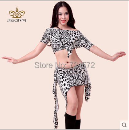 e0ce5624c Belly dance costume sexy zebra short sleeves top+short skirt 2pcs/suit for  women belly dance exercise costume set-in Belly Dancing from Novelty &  Special ...