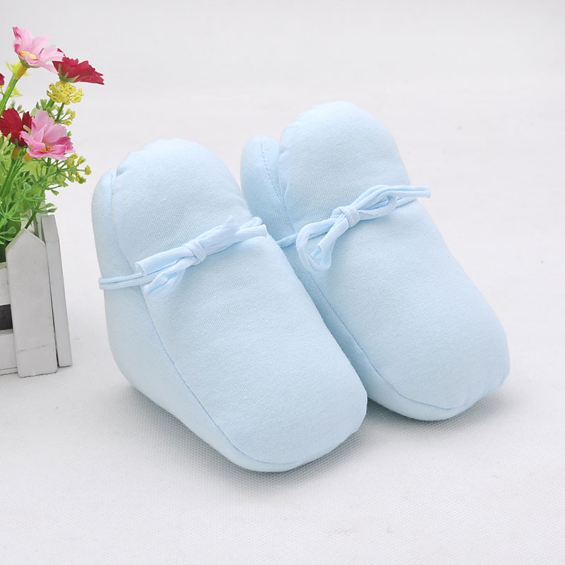 Clearance Winter Warm Newborn Baby Shoes Cotton Padded Baby Boots Infant Toddler Winter Warm First Walkers Booties Shoes