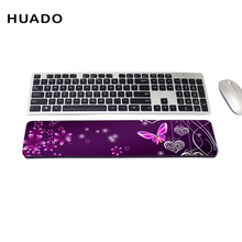 Comfortable Wrist Rest Gaming Keyboard Mouse with Non-Skid Mat Soft Pad Cushion filled for Notebook/ Desktop