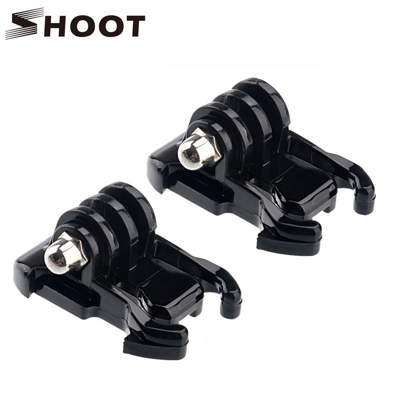 2Pcs Camera Quick Pull Activity Base Mount For GoPro Hero 5 4 Session SJCAM Yi 4K Eken H9 kits Case Strap Mount Go pro Accessory gopro accessories head belt strap mount adjustable elastic for gopro hero 4 3 2 1 sjcam xiaomi yi camera vp202 free shipping