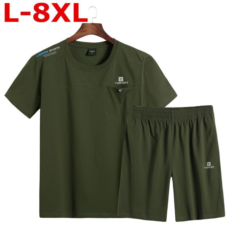 2018 nouvelle grande taille 8XL 6XL 5XL 4XL hommes t-shirt hommes marque de mode design joli coton jeune blanc lâche droite t-shirts o-cou