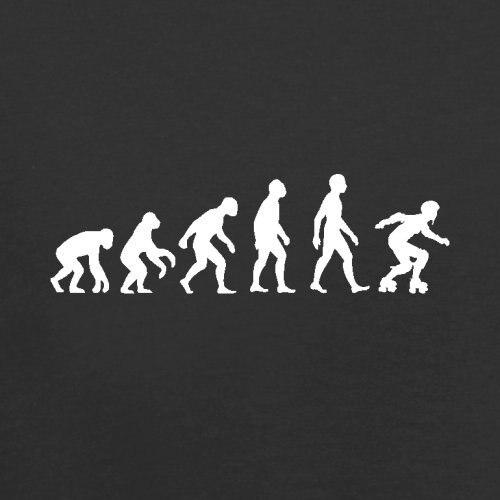 Print T-shirt Harajuku Short Sleeve Men Top Evolution Of Man Roller Derby - Mens T-shirt - 10 Colors