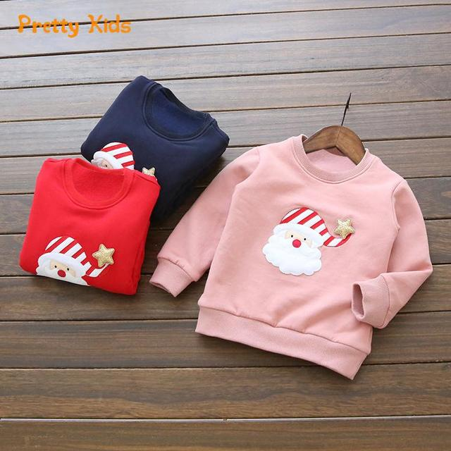 159438312a61 Christmas Boy Girls Hoodies Clothes Children s thick Sweatshirts ...