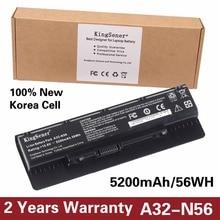 10.8 В 5200 мАч Корея сотовый Новый A32-N56 Батарея для ASUS N46 N46V N46VJ N46VM N46VZ N56 N56V N56VJ N56VM N76 N76VZ A31-N56 A33-N56