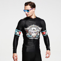 Men's long sleeved sunscreen Snorkeling swimsuit Wetsuit jellyfish garment apparel for beach Y098