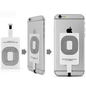 Image 2 - Приемник для беспроводной зарядки, стандарт Qi, для iPhone 5 5S SE 6 6S 6SPlus 7 Plus