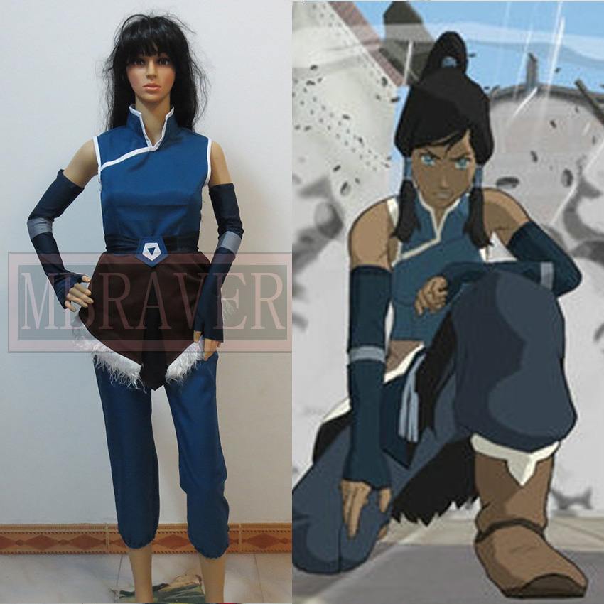 Avatar: Legend of Korra Cosplay Costume Custom Made Any Size