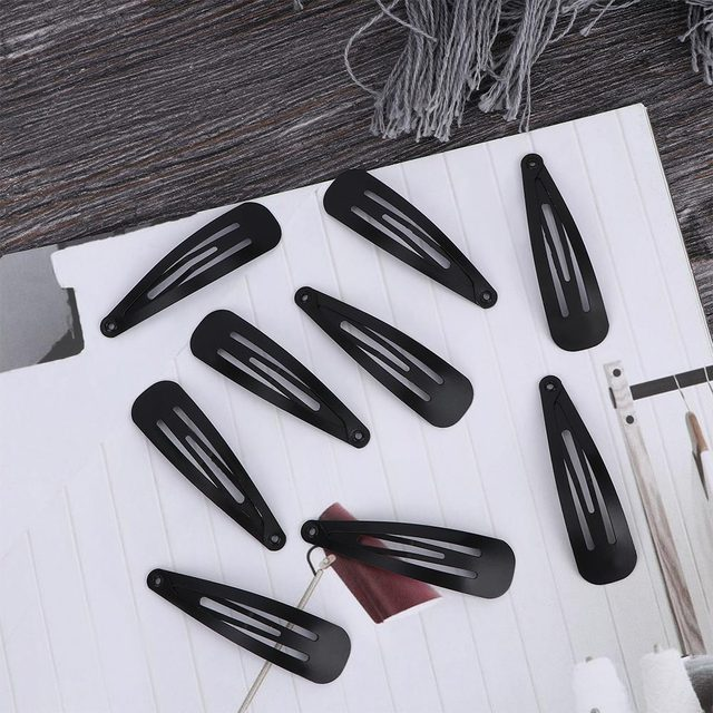 Black Sample 10pcs/set Metal Hair Barrettes Hairpins BB Headbands hair clips for girls Womens Hairgrips Hair Styling Accessories