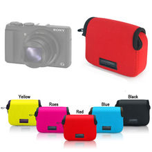 Neoprene Soft camera cover Case Pouch Bag for SONY HX80 HX90 RX100 RX100II V M3 RX100M4 M5 WX500 DSC-HX90V camera protector case