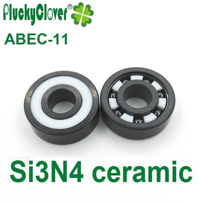 Hybride 6801-2RS CERAMIC Si3N4 ABEC 5 Billes Kit 2 pièces