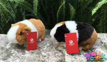 18CM Kawaii Simulation Mouse Plush Toys Guinea Pigs Plush Dolls Cavia porcellus Stuffed Toy For Kids Free Shipping