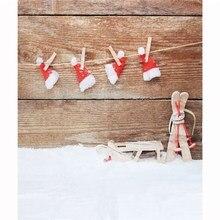 7X5ft тонкий винил рождественские фотографии фон для студии реквизит для фотосессии фотографические фонов 2.1 м x 1.5 м