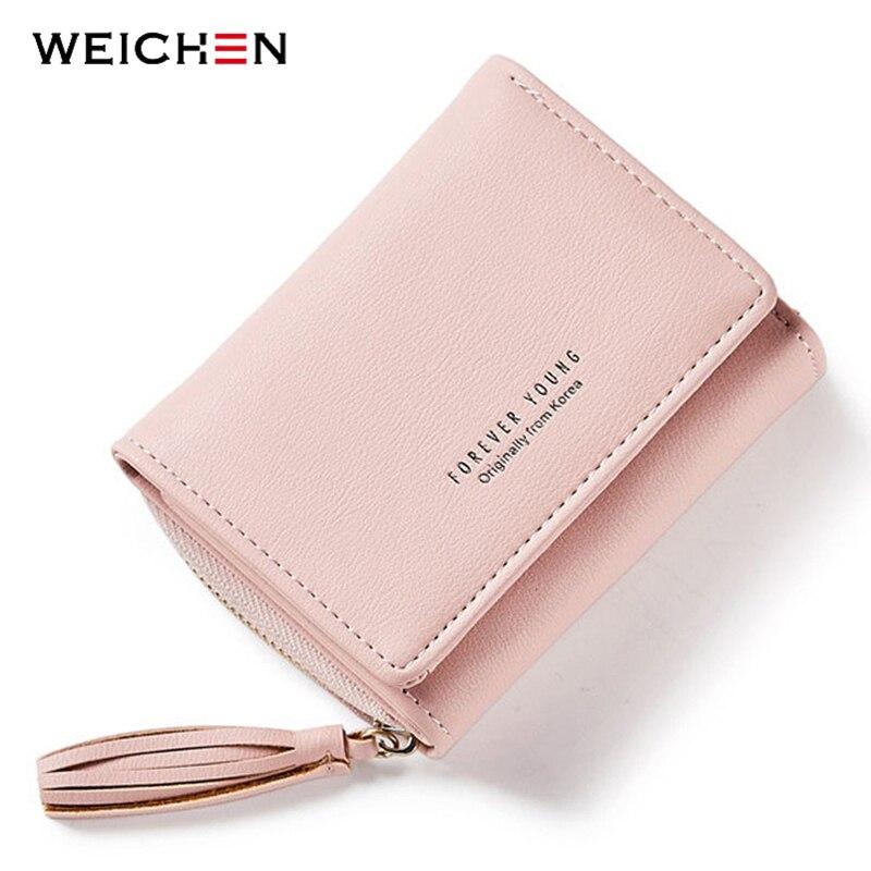 Weichen borla colgante de las mujeres carteras con cremallera Coin - Monederos y carteras - foto 6