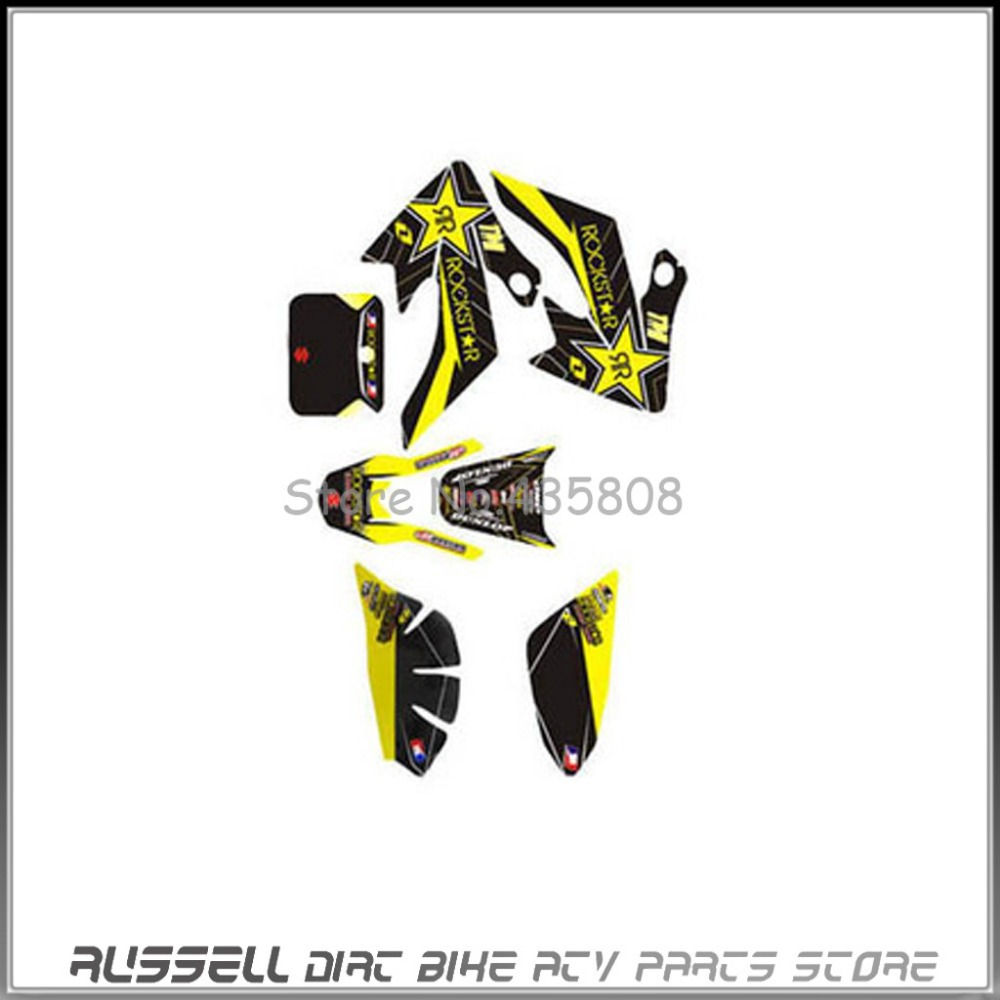 2017/06/dirt bikes for sale and free shipping - 3m Graphics Kit Decals Sticker For Honda Moto Dirt Pit Bike Parts Xr Crf50 New In Decals Stickers From Automobiles Motorcycles On Aliexpress Com