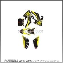3 М графика кит отличительные знаки наклейки для honda MOTO грязь велосипед ямы XR CRF50 NEW