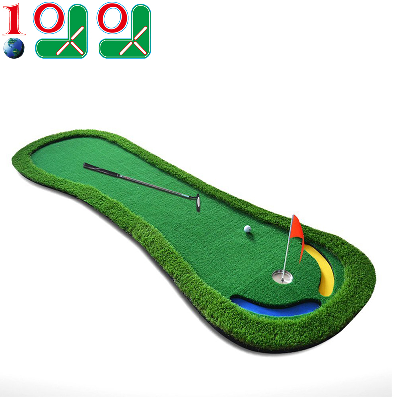10l0l mini Golf Putting mat Artificial green With slope ...