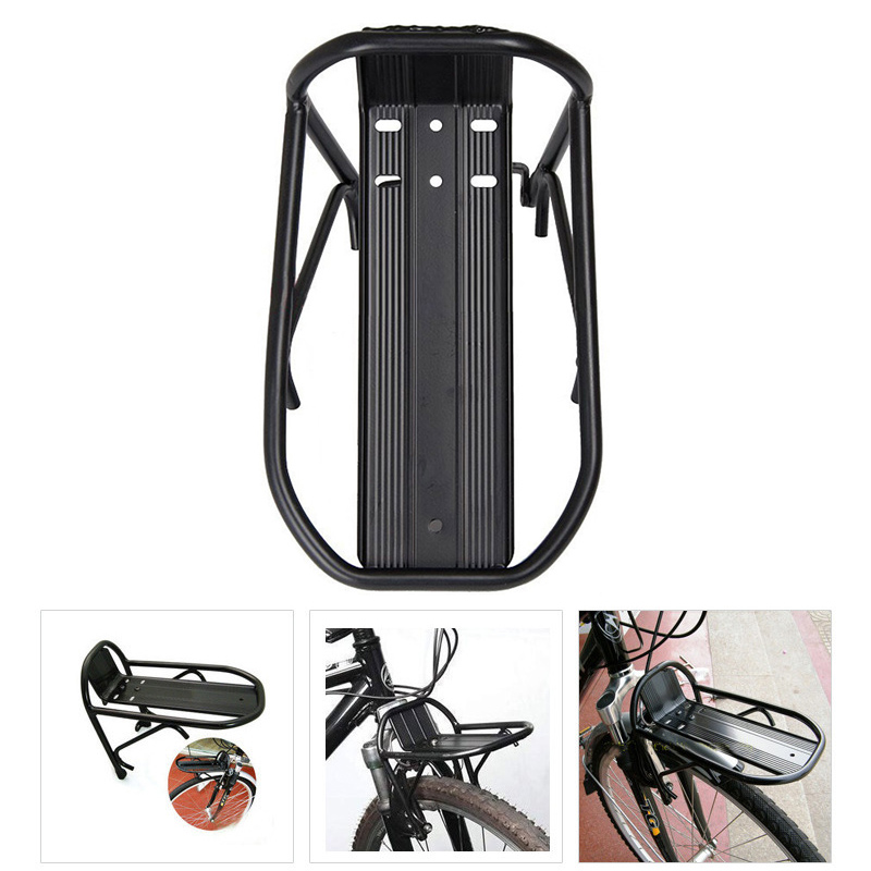 Aluminum Alloy MTB Road Bike Bicycle Front Rack Carrier Luggage Shelf Cycling US