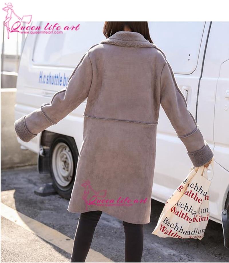 Peau Pourpre Agneaux La Confortable De Manteau Plus Taille Flocage Veste Survêtement