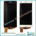 Для Sony Xperia Z3 Mini Compact D5803 D5833 ЖК-экран с сенсорным экраном дигитайзер сборочных полных комплектов, Черный или Белый