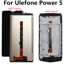 FOR Ulefone Power 5 LCD Power5 LCD Display+Touch Screen Digitizer Assembly Replacement for Power 5 lcd display for oukitel power 5 power5 lcd display touch screen digitizer assembly replacement accessories