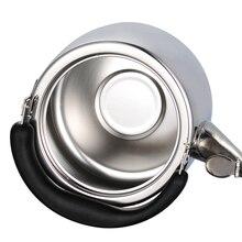 Freien Kochgeschirr 3-6 liter Wasserkocher Kaffeekanne Camping Verdicken edelstahl Wasserkocher Teekanne Wasserkocher Topf teekessel