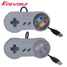 USB Sport Retro Wired Controller Joypad Joystick for PC MAC Video games not for Nintendo SNES Basic Gamepad