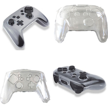 Transparent Clear Hard Crystal Case Protective Cover Shell Skin for Nintendo Nintend Switch Pro Controller Gamepad Protector