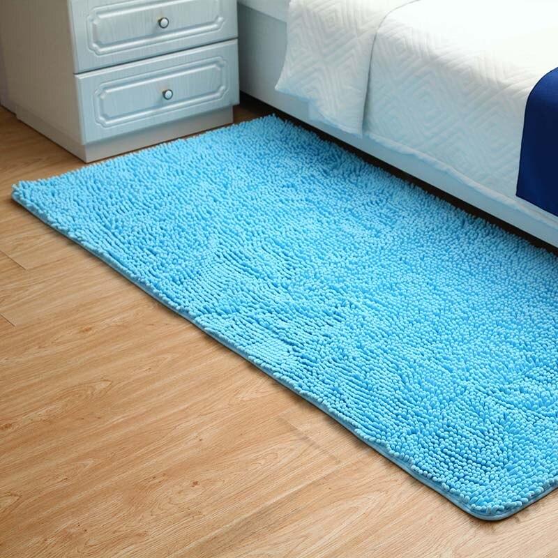 50x100cm 19quotx39quot Microfiber Chenille Area Rug For Bedroom Non Slip