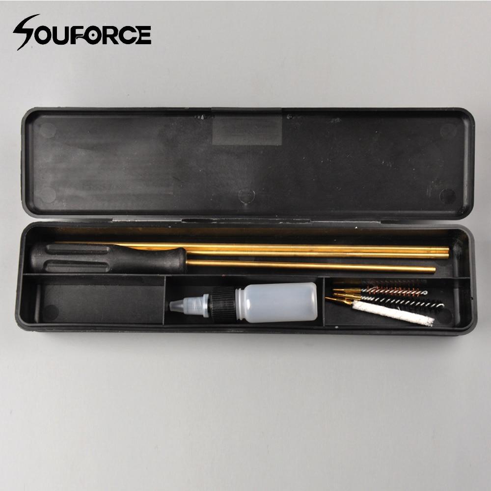 Hunt karabin pneumatyczny/pistolet/beczka/zestaw szczotek do czyszczenia lunety. 177 (4.5mm) i. 22 (5.5mm) dla karabin pneumatyczny zestaw do czyszczenia pistoletu polowanie