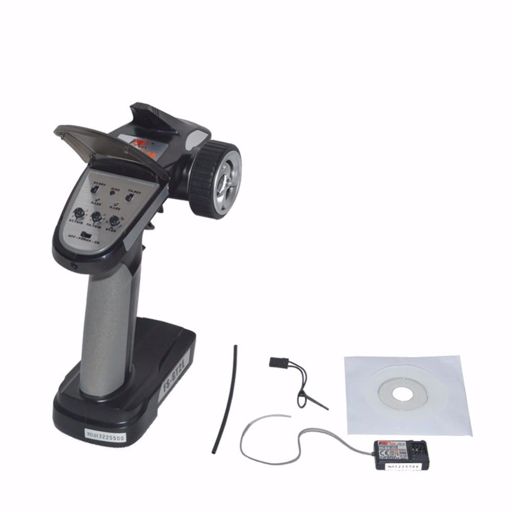 Flysky FS-GT2E 3CH 2.4GHz LED Radio Control Transmitter Receiver For RC Car Boat %328/319 все цены